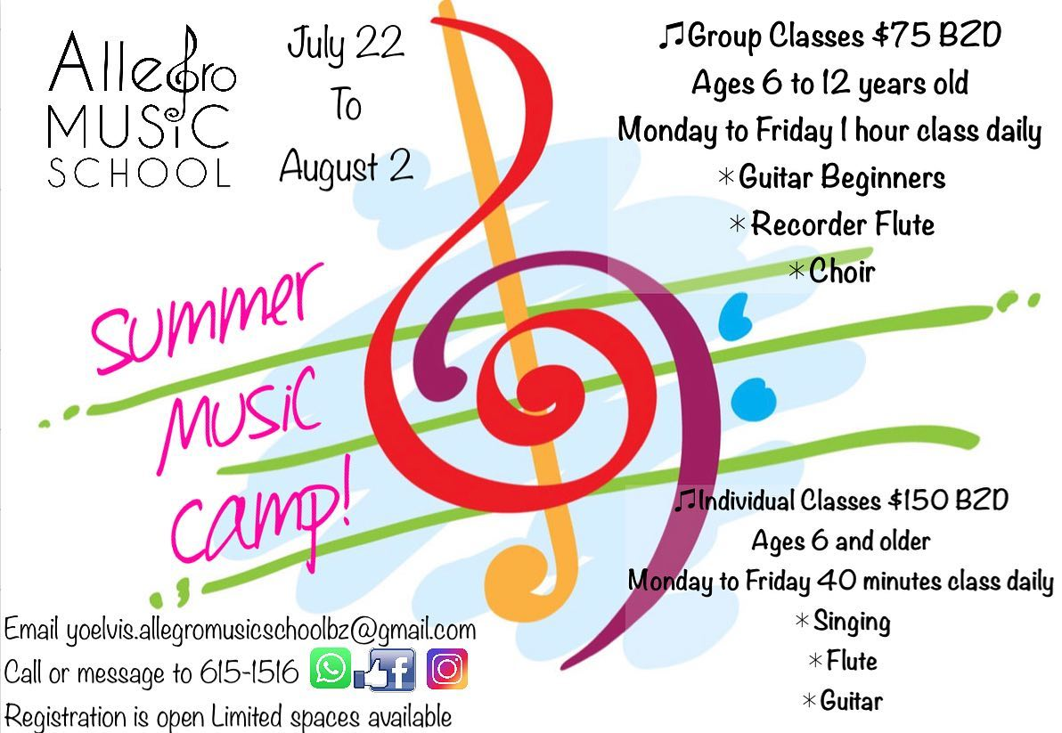 Belmopan Online Calendar Belmopan Summer Camps And Activities
