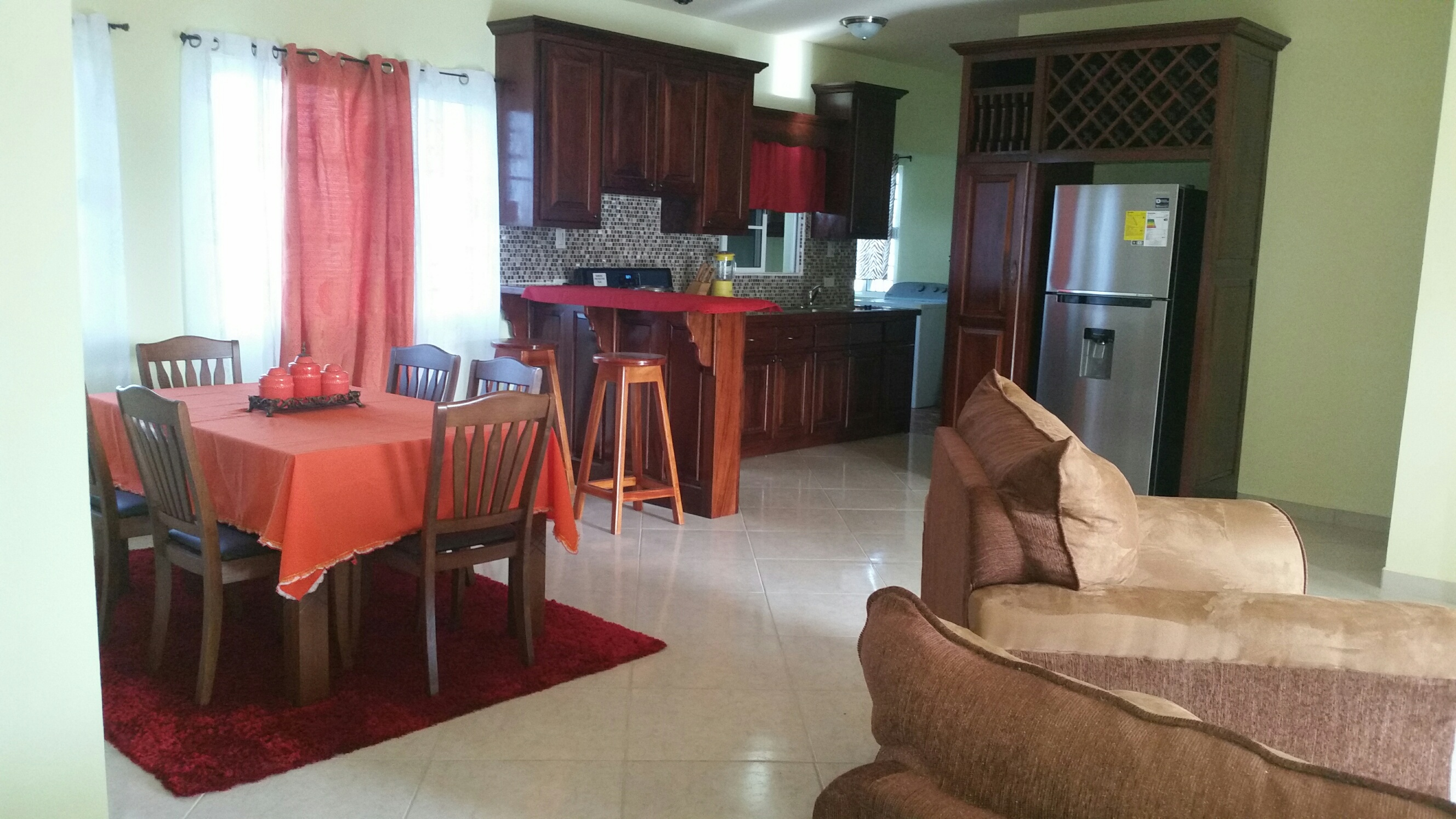 FURNISHED 3 BEDROOM HOME FOR RENT IN BELMOPAN CITY
