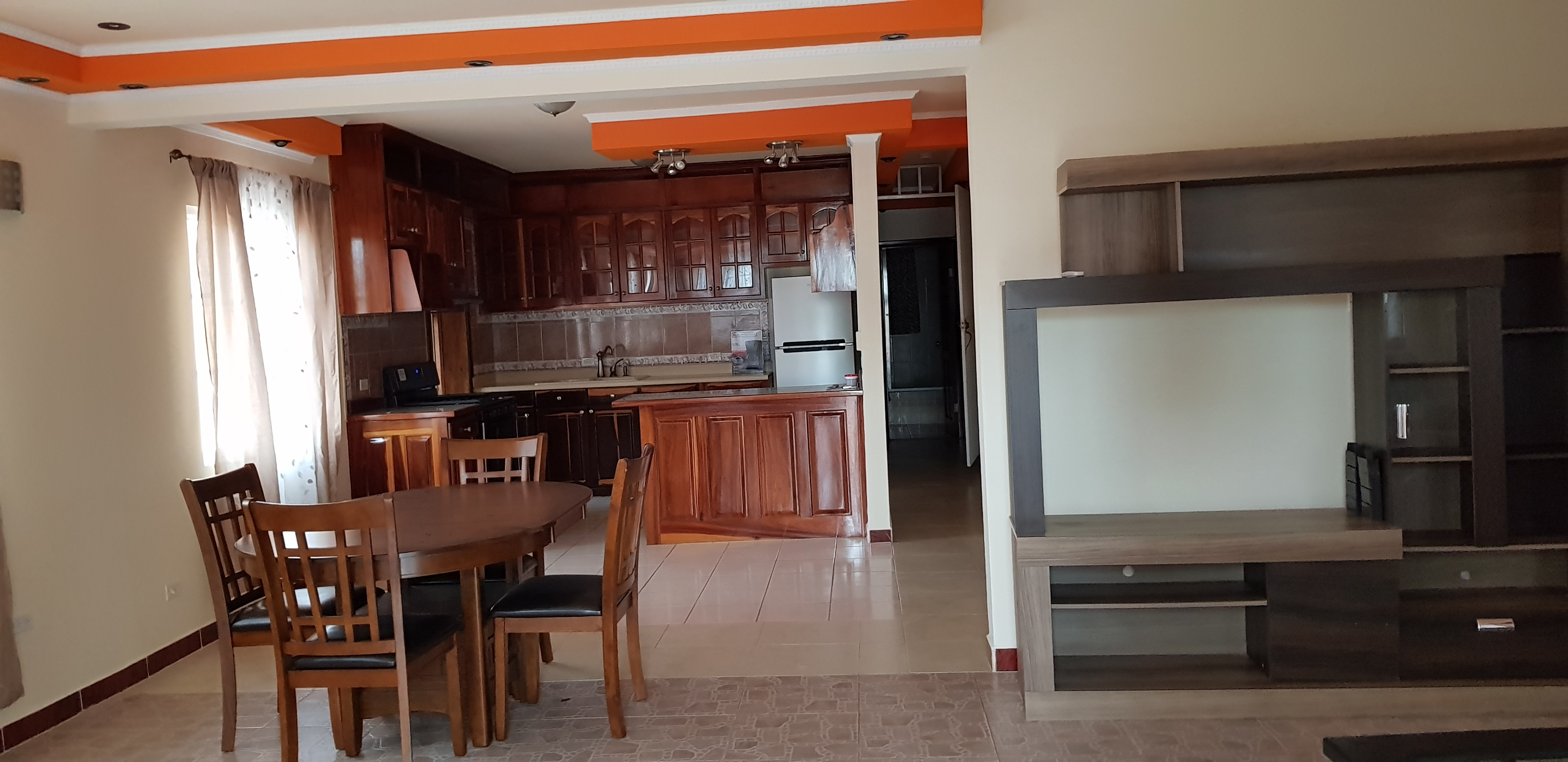 Furnished 4 rooms- two story Home for Rent