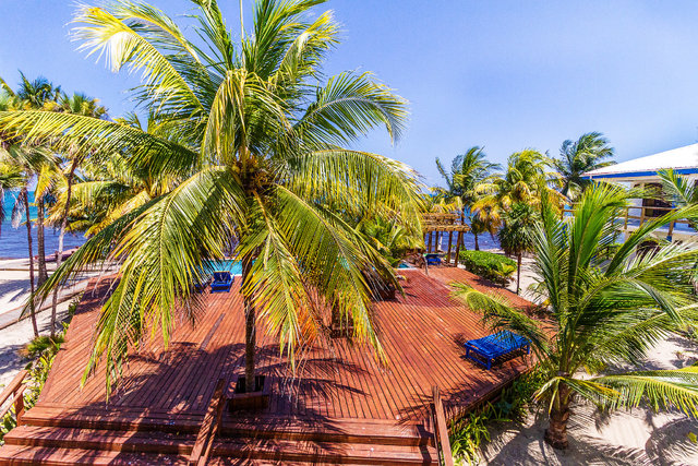 Beautiful Beachfront Condo in Placencia Seine Bight, Belize